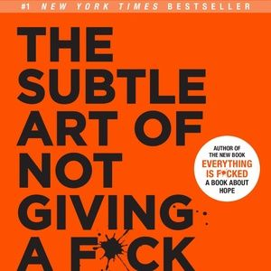 Other - THE SUBTLE ART OF NOT GIVING A F*CK by Mark Mason